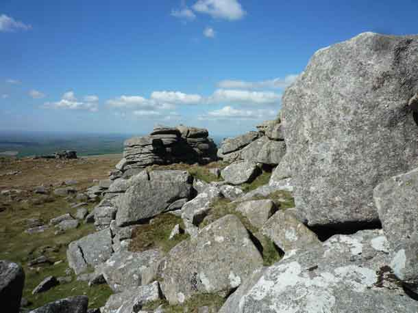 View from Dartmoor